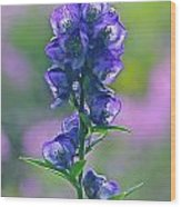 Floral Crystal Wood Print