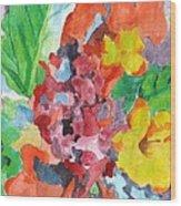 Floral Dream 3 Wood Print