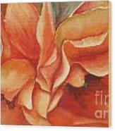 Floral Flash Wood Print