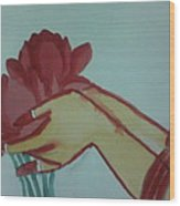 Floral Offering Wood Print