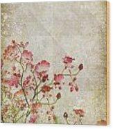 Floral Pattern Wood Print