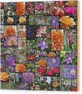 Florals Wood Print