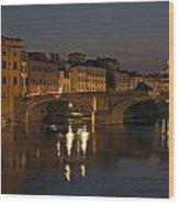 Florence - Ponte San Trinita Wood Print