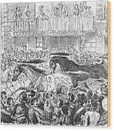 Florence: Horse Race, 1857 Wood Print