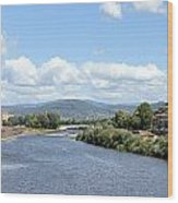 Florence Italy Arno River Wood Print