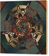 Florentine Colonnade Star Wood Print