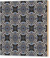 Florentine Colonnade Symmetry Wood Print