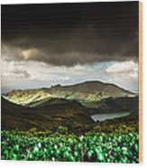 Flores Island - Azores Wood Print