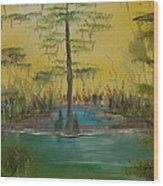 Florida Swamp Wood Print