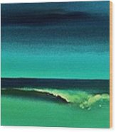 Florida Wave Wood Print