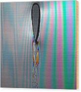 Flow Testing Air Foil Wood Print