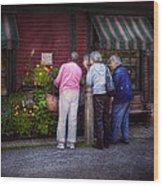 Flower - The Garden Club  Wood Print