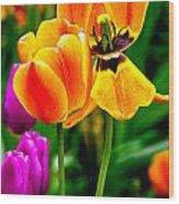 Flower 19 Wood Print