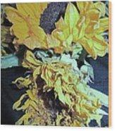 Flower-27 Wood Print