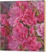 Flower 290 Wood Print