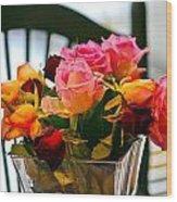 Flower 34 Wood Print
