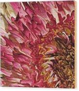Flower Art Wood Print
