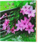 Flower Bouquets Wood Print