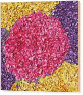 Flower Carpet Wood Print