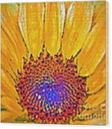 Flower Child - Flower Power Wood Print