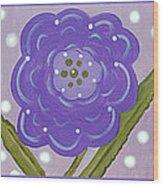 Flower Children Wood Print