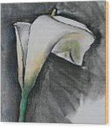 Flower In Bloom - Los Angeles Wood Print