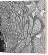 Flower Lace Wood Print