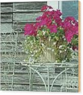 Flower Pots ...... 4 Wood Print