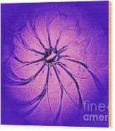 Flower-series-3 Wood Print