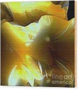 Flowering Fractal Wood Print