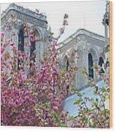 Flowering Notre Dame Wood Print