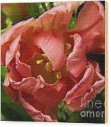Floweron Wood Print