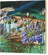 Flowers Wood Print by Jenny Senra Pampin