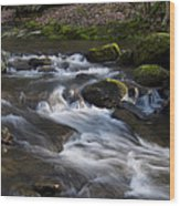 Flowing Love Wood Print by Victoria Ashley