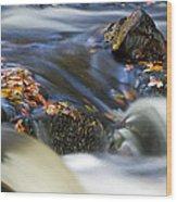 Flowing River IIi Wood Print