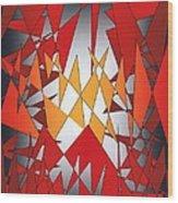 Flying Carpet Two Cor Crucibulum Wood Print