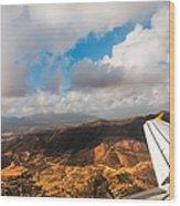 Flying Over Spanish Land IIi Wood Print