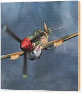 Flying Tiger P-40 Warhawk Wood Print