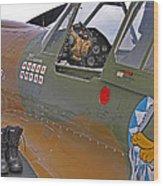 Flying Tigers 02 Wood Print by Jeff Stallard