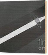 Focal Length Wood Print
