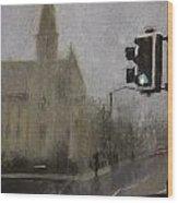 Foggy Herne Bay 1 Wood Print