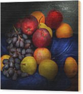 Food - Fruit - Fruit Still Life  Wood Print