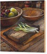 Food - Vegetable - Garden Variety Wood Print
