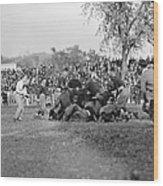 Football Game, 1912 Wood Print