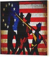 For Liberty Wood Print
