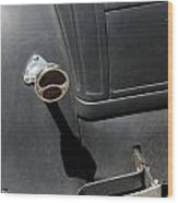 Ford A 1931 Taillight Wood Print
