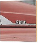 Ford Arrow Wood Print