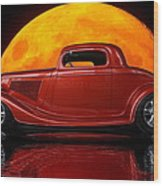 Ford Coupe Wood Print