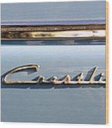 Ford Crestline Wood Print