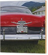 Ford Fairlane Crown Victoria Wood Print
